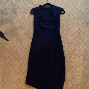 Banana republic knit blue dress
